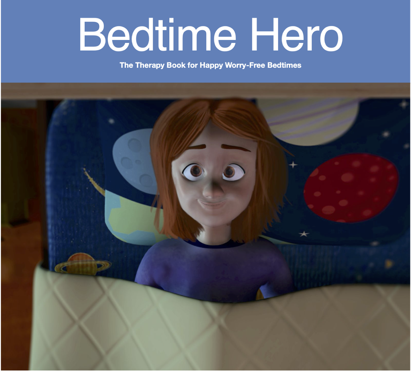 The therapy book for the child who is afraid of sleeping alone